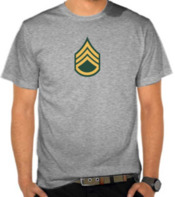 Army - Staff Sergeant Label