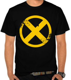X Men Button Yellow