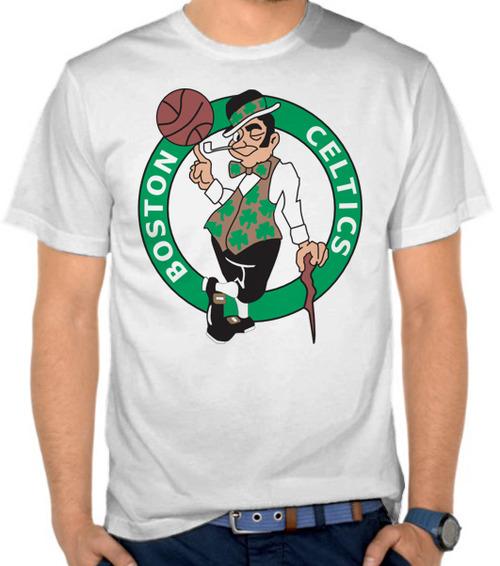 outlet store e2765 2dd40 Jual Kaos Logo Tim NBA - Boston Celtics 1 - Basket ...
