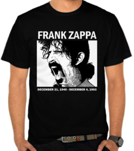 Frank Zappa Scream Face