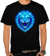 Blue Flame Lion