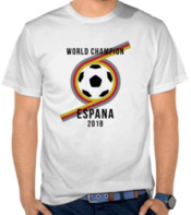 Espana World Cup 2018 2