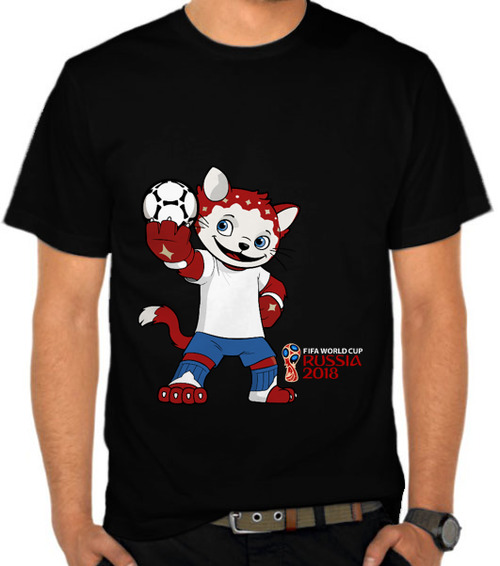 World Cup 2018 Mascot Cat Zabivaka