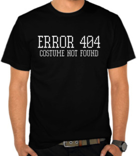 Error 404 - Costume Not Found 2