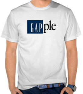 Parodi GAP and Apple - Gapple