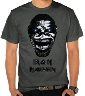 Band Iron Maiden 7 - Eddie Metal Skull