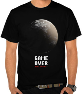 greenpeace - Game Over,Play Again?