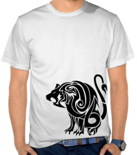 Lion Tribal Art 2