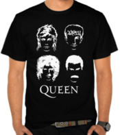 Queen Face Silhouette
