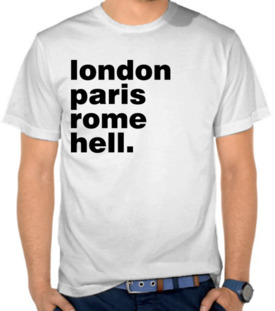 London Paris Rome Hell