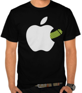 Android Worm - Apple Logo