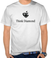 Parodi Logo Apple (Think Different) Think Diamond