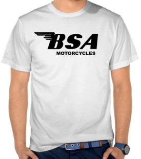 BSA Motorcycle Logo  2