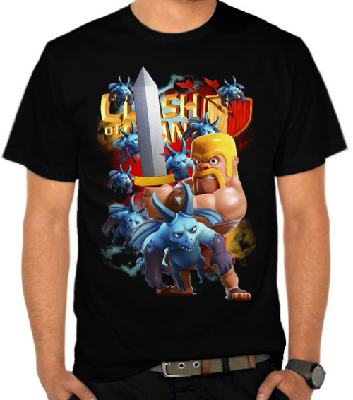 Barbarian And Minion - Clash Of Clans