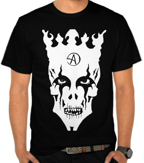 Jual Kaos Criss Angel Skull Logo Magic Tricks Satubaju