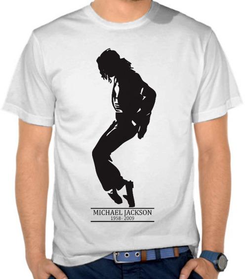 Jual kaos michael jackson silhouette black michael for Jackson galaxy band