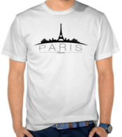 Paris France Silhouette