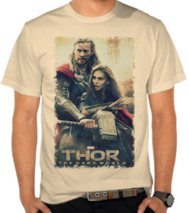 Thor - The Dark World Vintage 3