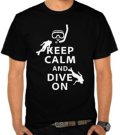 Keep Calm and Dive On (White)