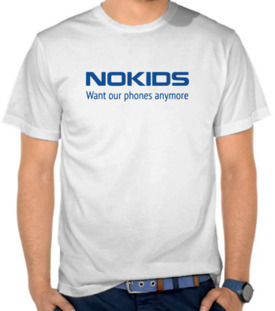 Parodi Logo Nokia -  NoKids Want Our Phone Anymore