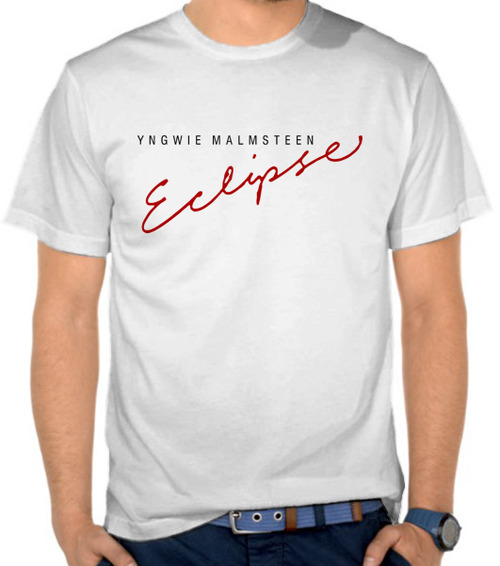 Jual Kaos Yngwie Malmsteen Eclipse