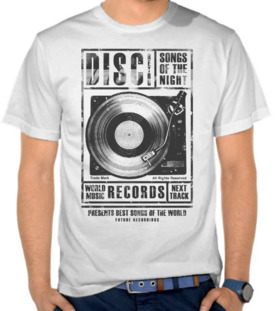 Disc Record - Gray