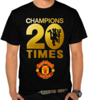 Manchester United - Champions 20 Times