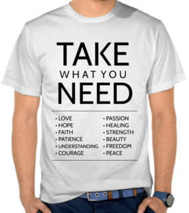 Take What You Need 2