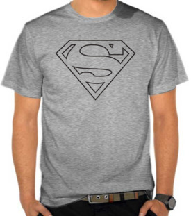 Superman Logo Outlines