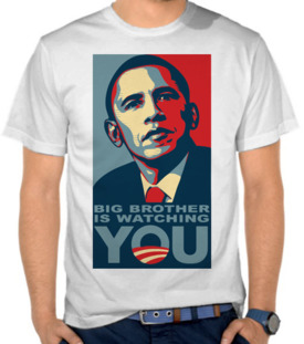 Big Brother Is Watching You - Obama