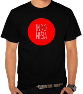 Indonesia In Circle