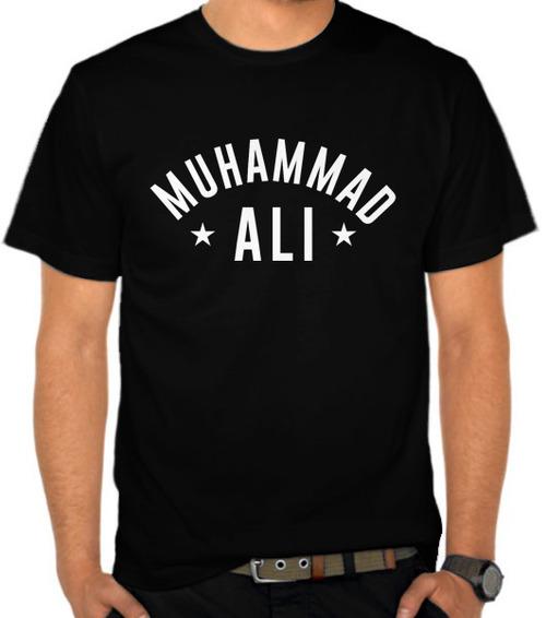 Jual Kaos Muhammad Ali Logo 3 - Tokoh - SatuBaju.com