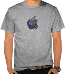 Apple Logo Earth Overlay