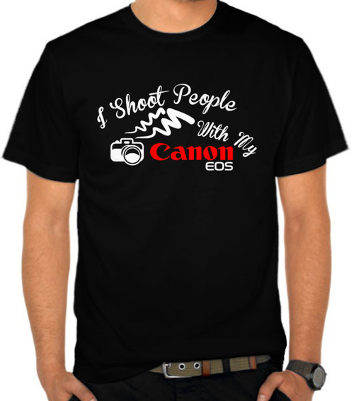 I Shoot People With My Canon II