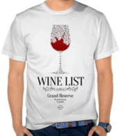 Wine List - Grand Reserve