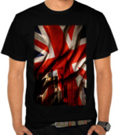 Union Jack - London Silhouette