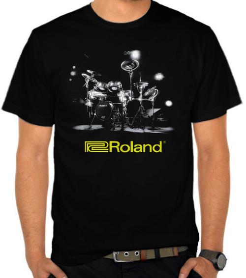 harga Kaos Roland Drum (SB8WA) Satubaju.com