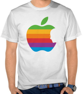 Apple Rainbow Steve Jobs