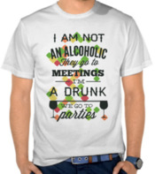 Kata-kata I am not an Alcoholic