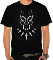Black Panther Logo Mask