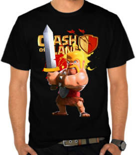 Angry Barbarian - Clash Of Clans