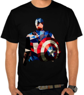Superhero - Captain America Mozaic