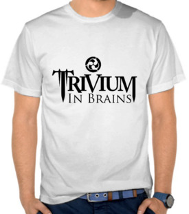 Trivium In Brains - Logo Hitam