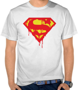 Superman Logo Bleeding