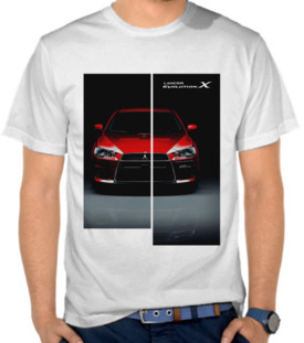Mitsubishi Lancer Evolution X Red 3