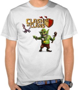 Clash Of Clans - Goblins And Little Dragon
