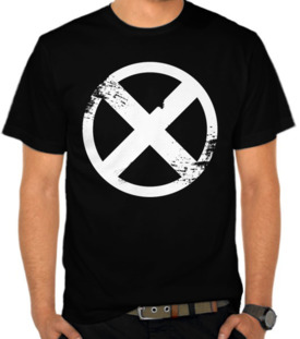 X Men Button White