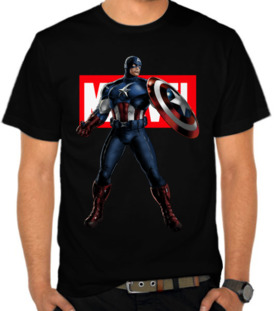 Marvel Logo - Captain America