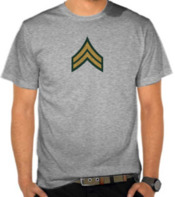 Army - Corporal Label