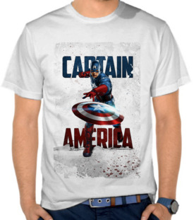 Superhero - Captain America Grunge